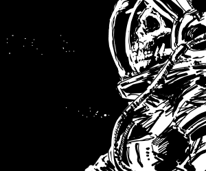 Haunted Space suit