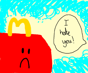 hating McDonald's