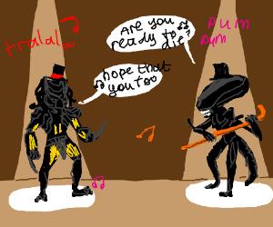 alien vs predator the musical