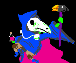 Colorful Plague Doctor
