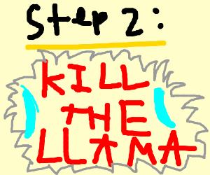 Step 1: Go buy a llama