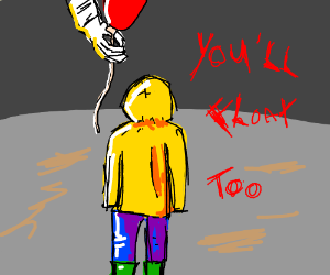 georgie from it drawing by sick laddie drawception