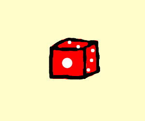 A 6 sided dice