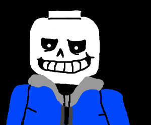 lego man sans - Drawception