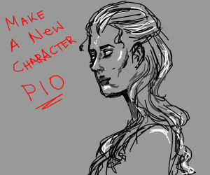 make a new character (PIO12?)