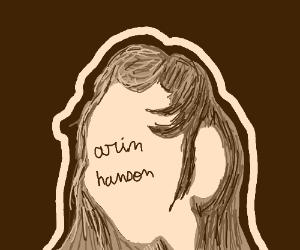 Arin Hanson has fabulous, shiny hair