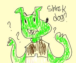 dog shrek hybrid