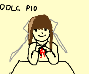 IDK , just draw some DDLC or something? PIO