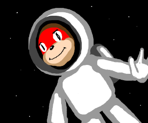 Knuckles in space