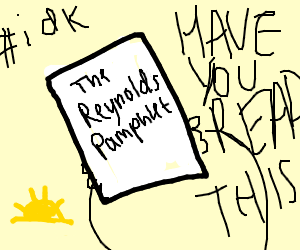 The Reynolds Pamphlet - HAVE YOU READ THIS?