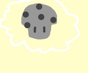 Grey mushroom cloud