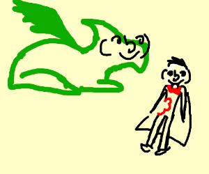 lenny dragon kills lenny vampire