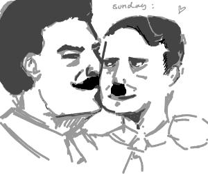 Hitler and Stalin; true love on sunday morning