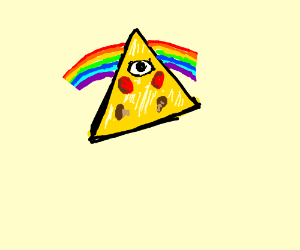 Illuminati gay pizza