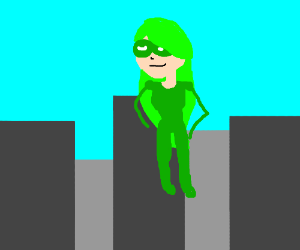 Superhero Dollarwoman is here to save the day