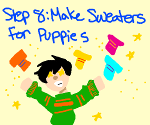 step 7: adopt new puppies!