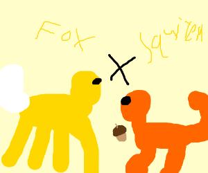Fox + Squirell
