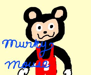 Deformed Mickey Mouse aka Murky Mouce