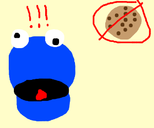 There are no cookies!!!