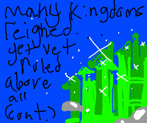 Our story begins in the land of Drawception...