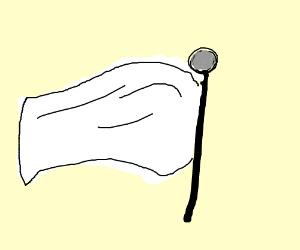 we surrender flag