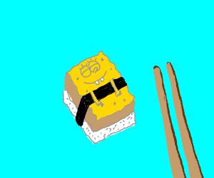 spongebob sushi