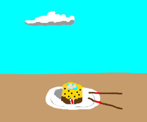 Sponge Bob themed Sushi