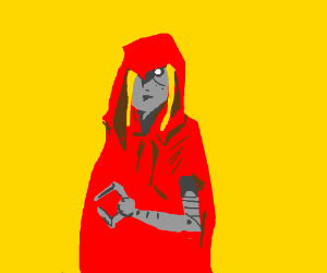 fake lil red riding hood