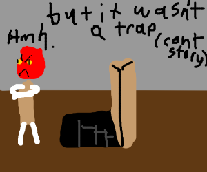 Adm. Ackbar warns trapdoor is a trap ContStory