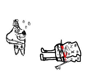 Spongebob - murdered!! :-O