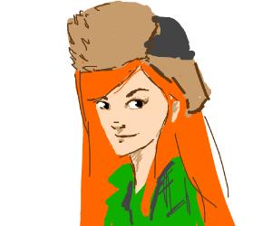 Realistic cartoon character PIO