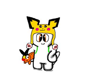 Pokemon cosplayer