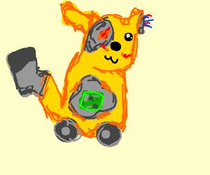 cyborg pikachu