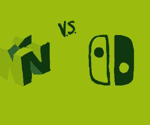 A Nintendo feud