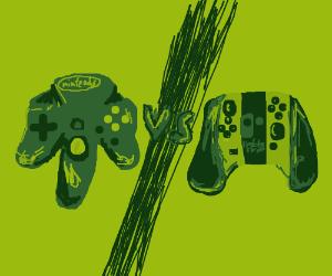 N64 v Switch