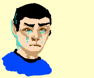 water pouring out of living flesh vulcan