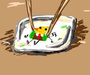 Sushi Spongebob