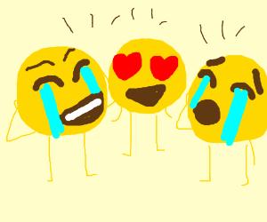 emoji friend group