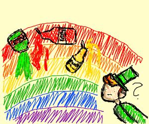 condiments on leprechaun's rainbow