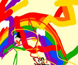rainbow glitch