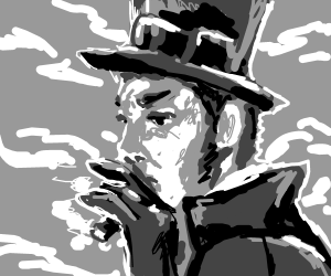 Some victorian villain or something