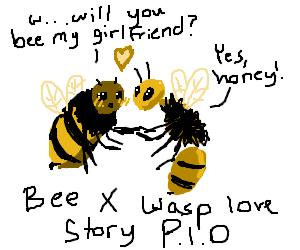 Bee X Wasp Love Story (PIO)
