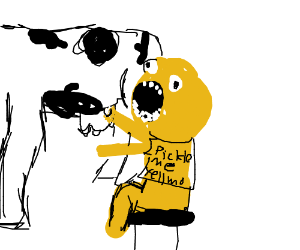 yellmo milks a cow!