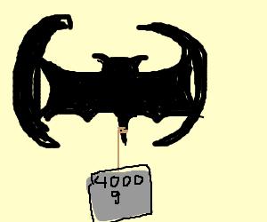 bat carries 4000g iron