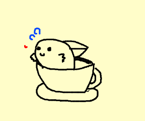 Fish in a tea cup