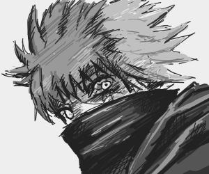 Kaneki as the One Eyed King