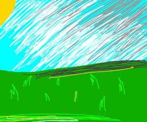 simple but pretty landscape
