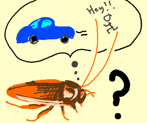 Cockroach Faills to Understand Car-Jacking