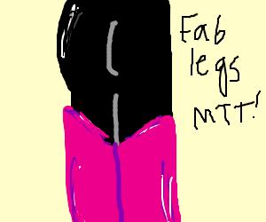 mettaton has some FABULOUS legs
