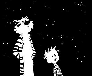 Time To Summon Eighty8 Calvin And Hobbes Pio Drawception